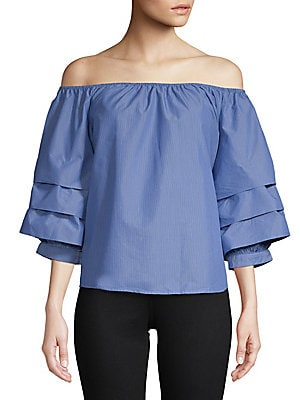 Tier Off-Shoulder Top