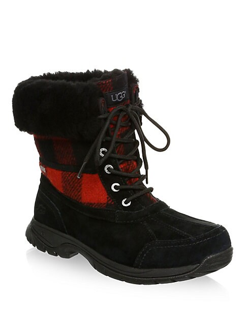 Butte Waterproof Buffalo Check UGGPure Winter Boots