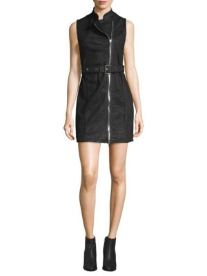 Dl Premium Denim  Robyn Moto Belted Dress