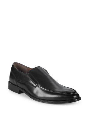 Steve Madden Leather Plain Toe Loafers