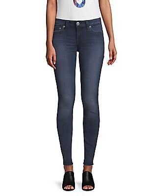Embellished Curvy Skinny Jeans