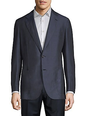 Linen & Silk Suit Jacket