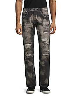 e310f3fed5ba QUICK VIEW. Cult Of Individuality. Rebel Ripped Straight-Leg Jeans