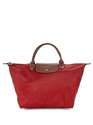Longchamp Leathers Le Pliage Shoulder Bag