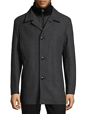 Barelto Textured Longline Jacket
