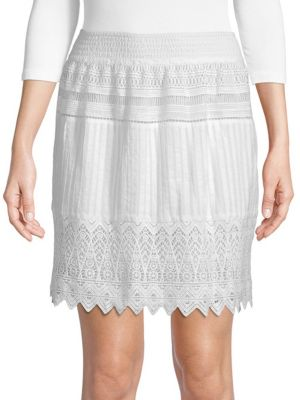 Kas New York Whitney Crochet Skirt