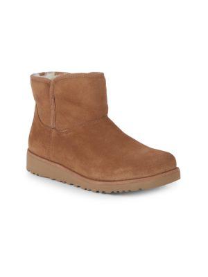 3cfca633163 Girl's Katalina II Suede & Shearling Boots