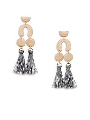 Tribal Tassel Earrings