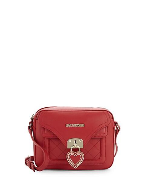 Quilted Heart Camera Bag