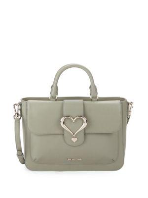 LOVE MOSCHINO Heart Tote Crossbody Bag