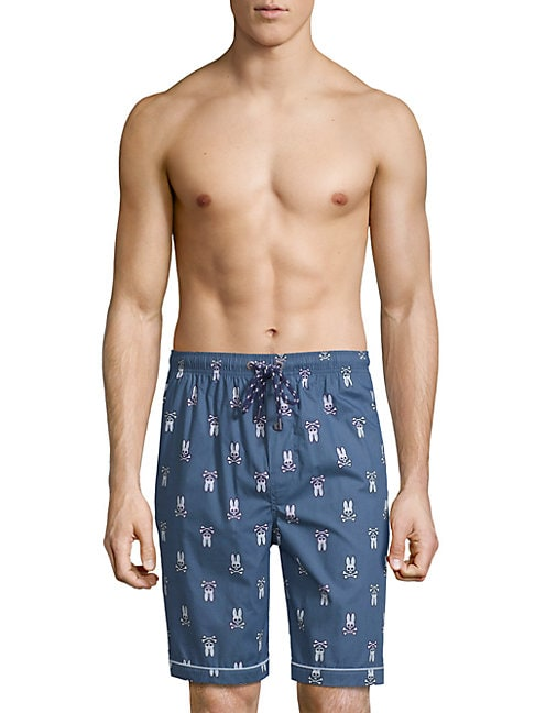 Woven Jammie Cotton Lounge Shorts