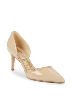 537c89e5c Sam Edelman Telsa Dorsay Pumps In Nude