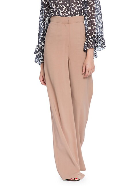 Tracy Reese STRETCH CREPE PALAZZO PANTS