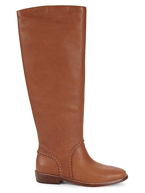 UGG AUSTRALIA | Gracen Leather Tall Boots | Goxip