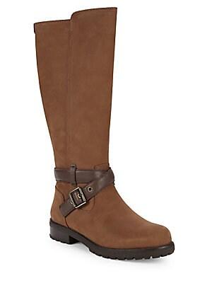 b8d04bcde59 UGG Australia - Harington Leather Knee-High Riding Boots