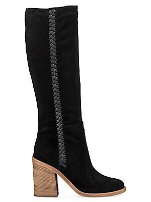75511ae06aa UGG Australia - Women's Maeva Suede Mid-Calf Boots