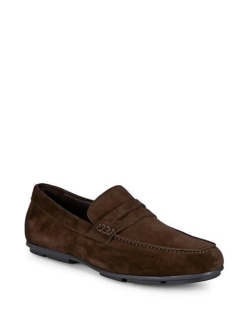 Suede Slip-on Loafer