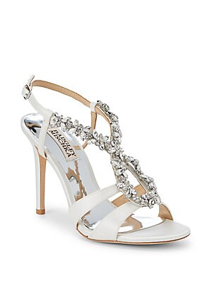 1f5d895c588 Badgley Mischka - Yuliana Crystal Embellished Sandals - saksoff5th.com