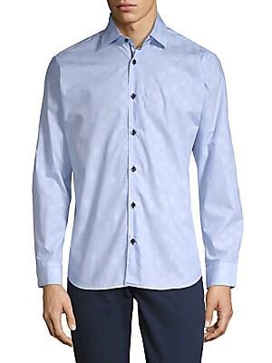 Cotton Polka Dot Shirt
