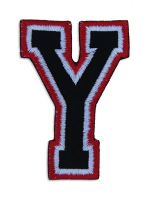 Logophile Embroidered Y Patch