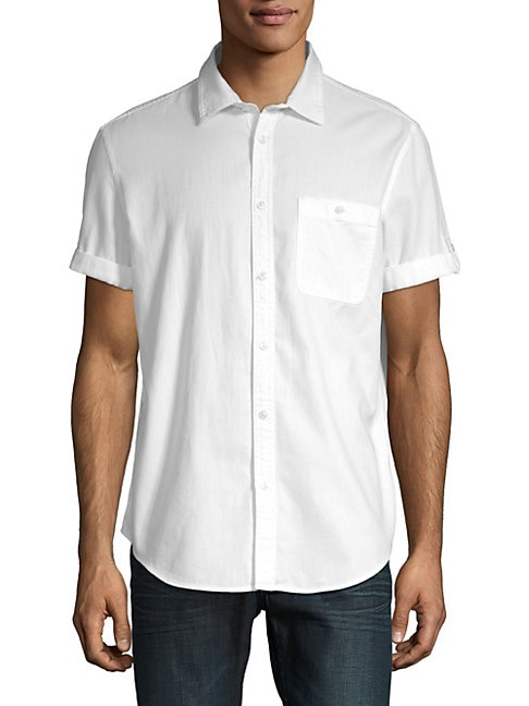 Cotton Short Sleeve Sport Shirt