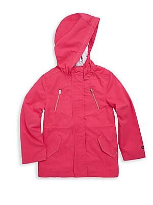 Little Girl's & Girl's Hooded Cotton Parka