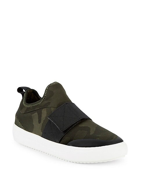Herald Camouflage Low-Top Sneakers