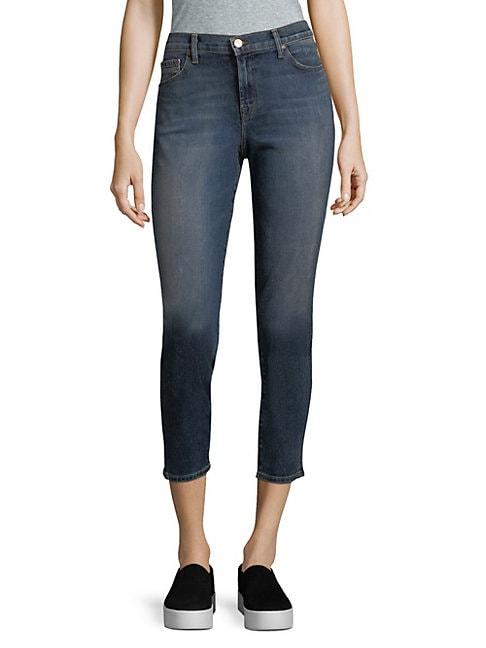 J BRAND | Mid-Rise Skinny Jeans | Goxip