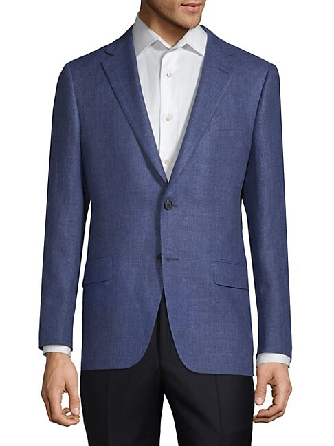 Milburn II Wool and Linen Sports Jacket