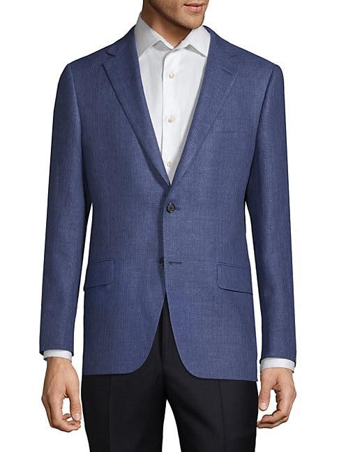 Milburn II Wool and Linen Sports Jacket