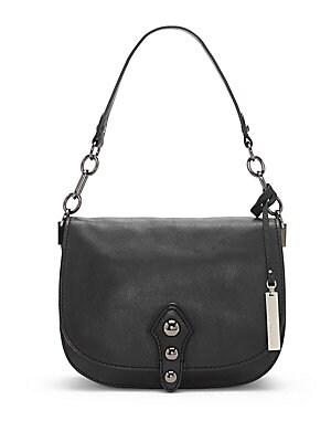 Flap Leather Shoulder Bag