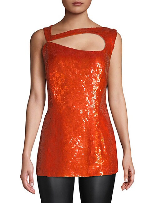 Gladiola Sleeveless Sequin Top