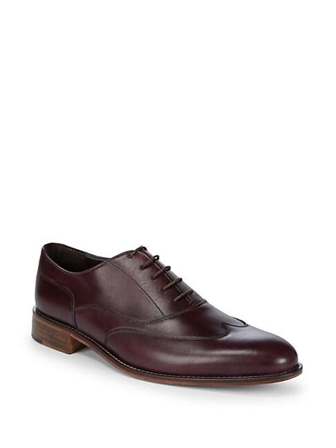 Simon Wingtip Leather Oxfords