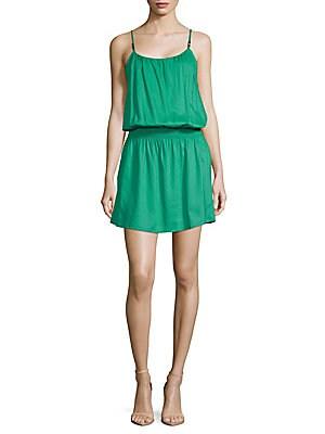 Drop-Waist Mini Dress