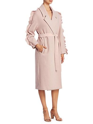 667f94dd4d72 Mother of Pearl Bexley Wrap Coat ...