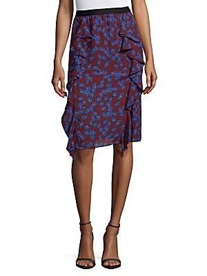 Margaret Pull-On Ruffle Skirt
