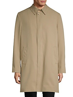 Classic Cotton Raincoat