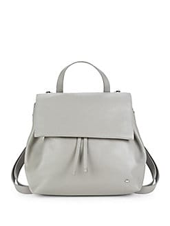 QUICK VIEW. Halston Heritage. Drawstring Leather Backpack 0c084744f98fa
