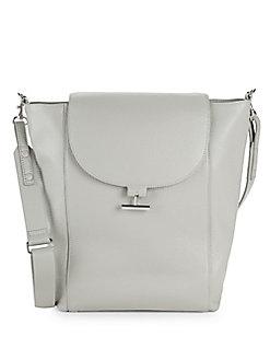 Quick View Halston Heritage Textured Leather Shoulder Bag