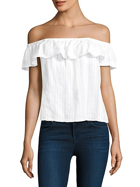 Cotton Ruffled Top