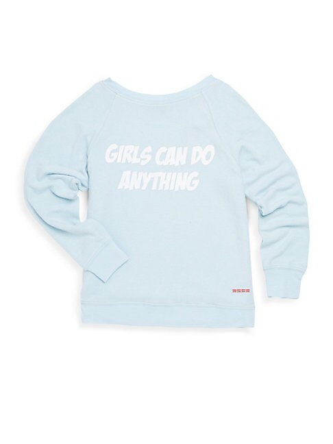 Little Girl's Graphic Sweatshirt