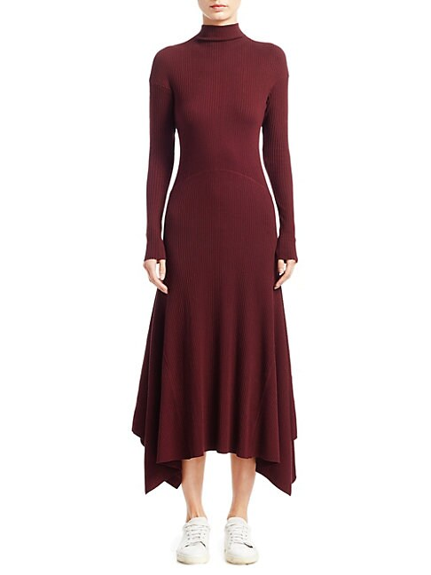 Panel Sweater Dress