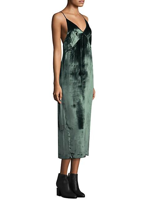 Blessing Moorland Velvet Dress
