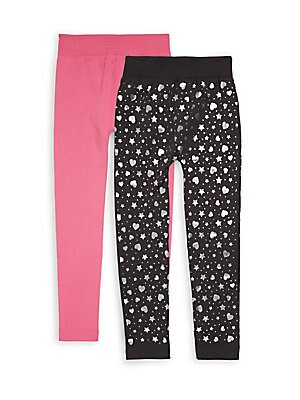 Little Girl's Two-Piece Leggings Set