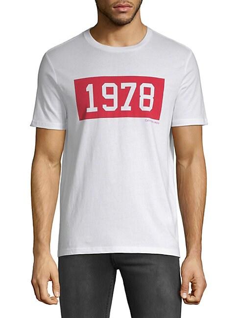 1978 Block Crewneck Tee