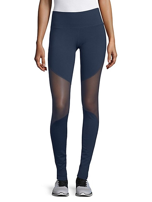 ELECTRIC YOGA | Mesh Active Leggings | Goxip