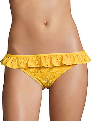 Ruffled Lace Bikini Bottom