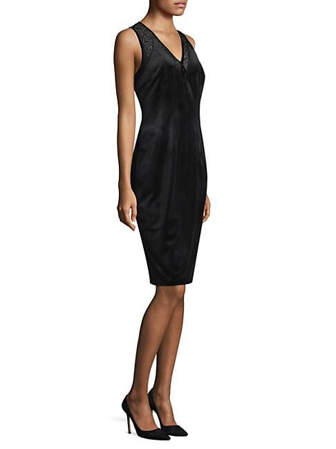 Mikaya Velvet Dress