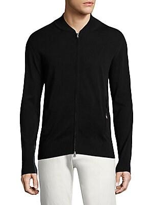 VILEBREQUIN Zip Front Cotton Cardigan
