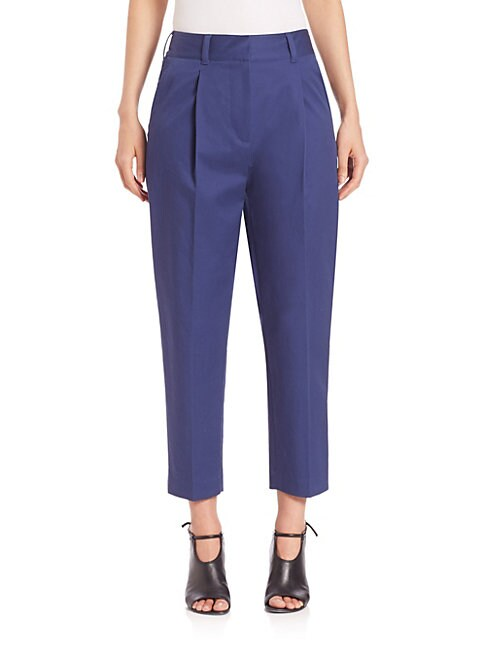 Carrot Cropped Pants